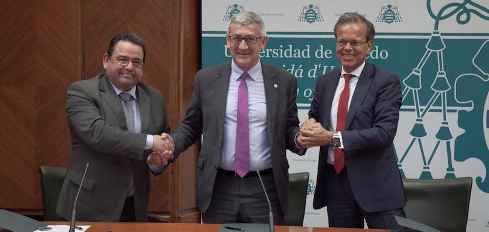La Universidad, Capgemini y Caja Rural de Asturias crean una cátedra de emprendimiento
