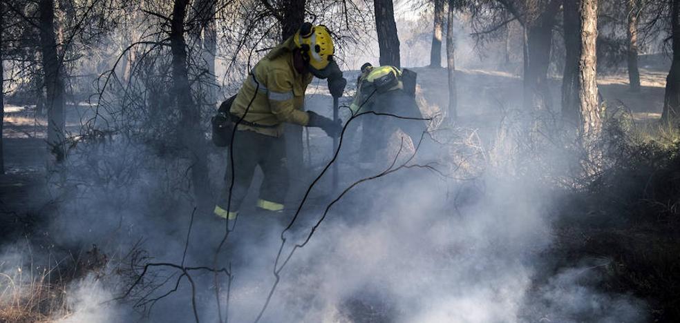 El peor año de incendios en España desde 2012