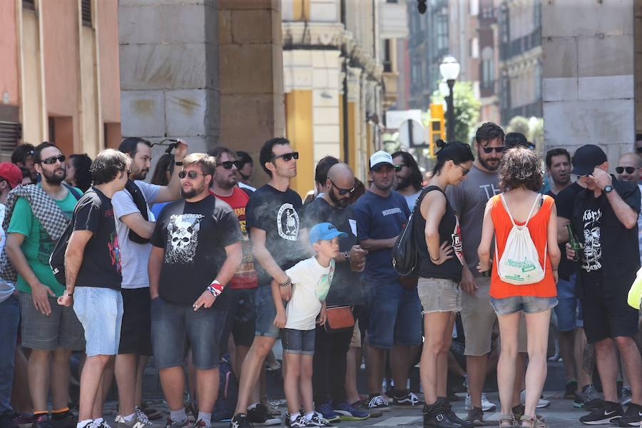 El Tsunami comienza con fuerza en Gijón