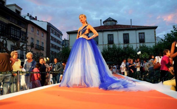 Desfile de moda en Ribadesella