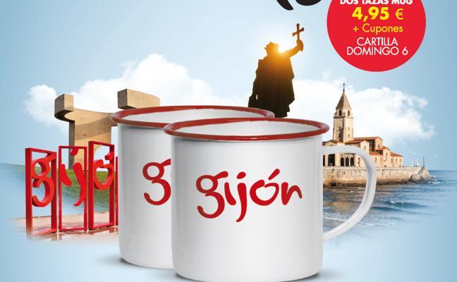 Las tazas Mug de Gijón