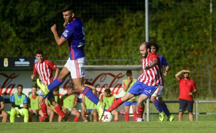 Real Oviedo B 0 - 1 Sporting B