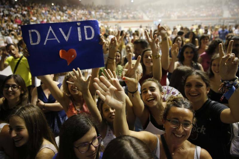 ¿Estuviste en el concierto de David Bisbal? ¡Búscate!