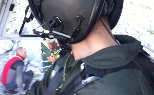 Rescatan a un espeleólogo que se rompió el peroné a 900 metros de profundidad