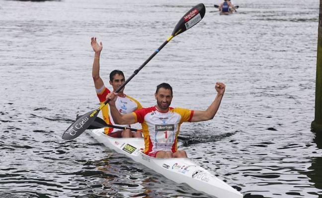 Bouzán y Fiuza agigantan su leyenda en el Sella