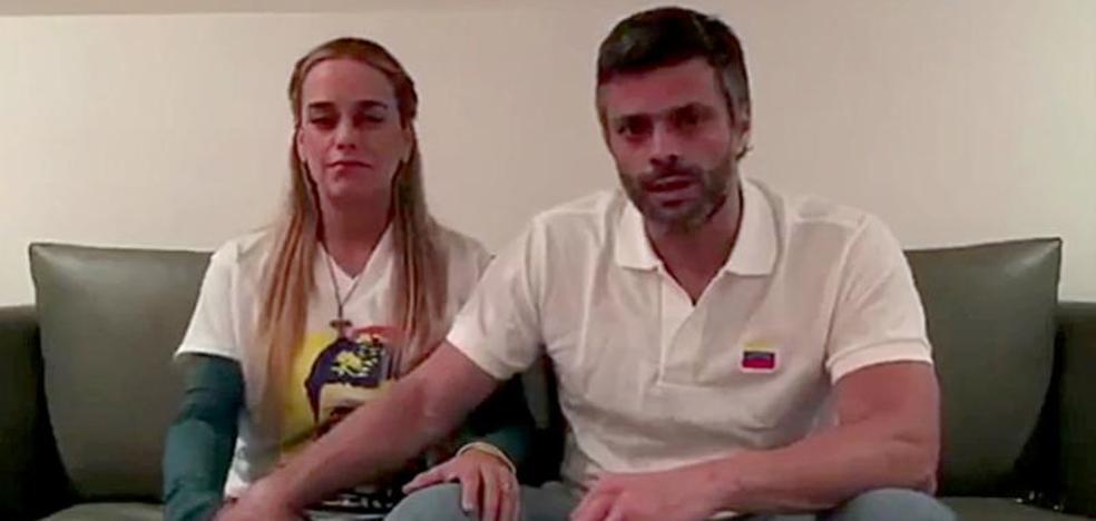 El opositor venezolano Leopoldo López vuelve a prisión domiciliaria