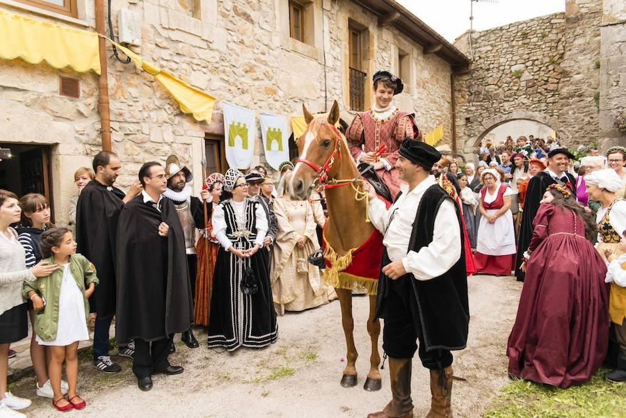 Y Carlos V volvió a Pimiango