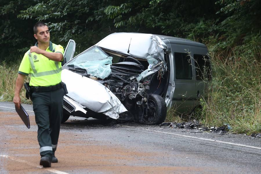 Muere un hombre de 71 años en un accidente en Carreño
