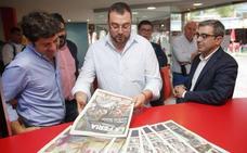 Adrián Barbón repasa la actualidad en EL COMERCIO