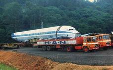 ¿Recuerdas el avión que iba a ser un restaurante en Asturias?