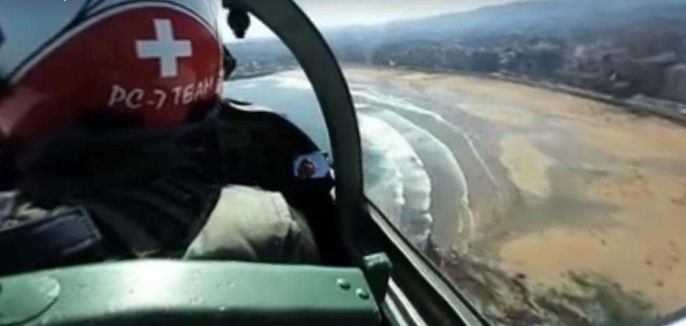 Gijón vista en 360 grados desde aire