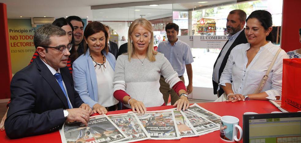 La política local y regional se dan cita en el estand de EL COMERCIO