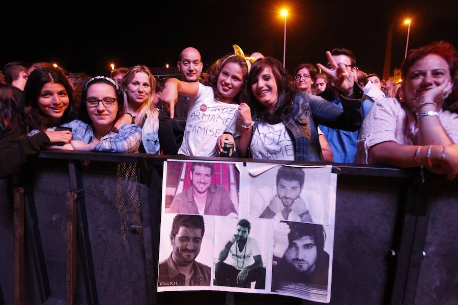 ¿Estuviste en el concierto de Antonio Orozco? ¡Búscate!