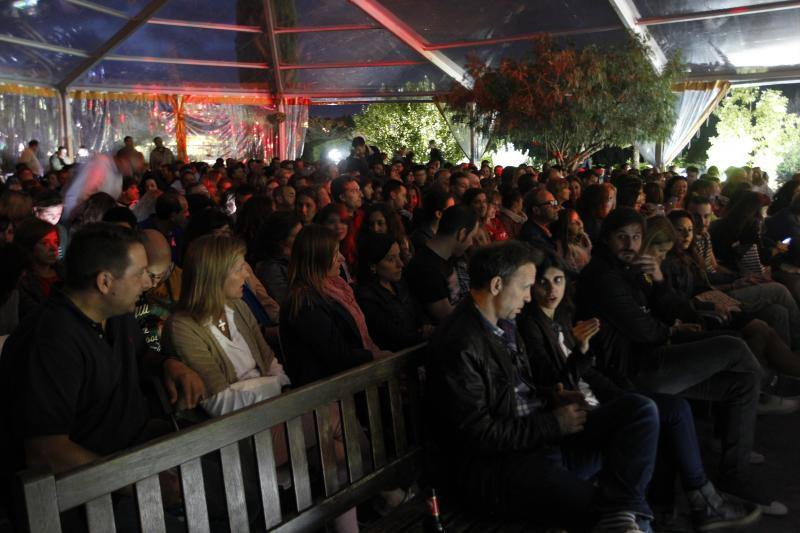 Coti pone música al Botánico de Gijón