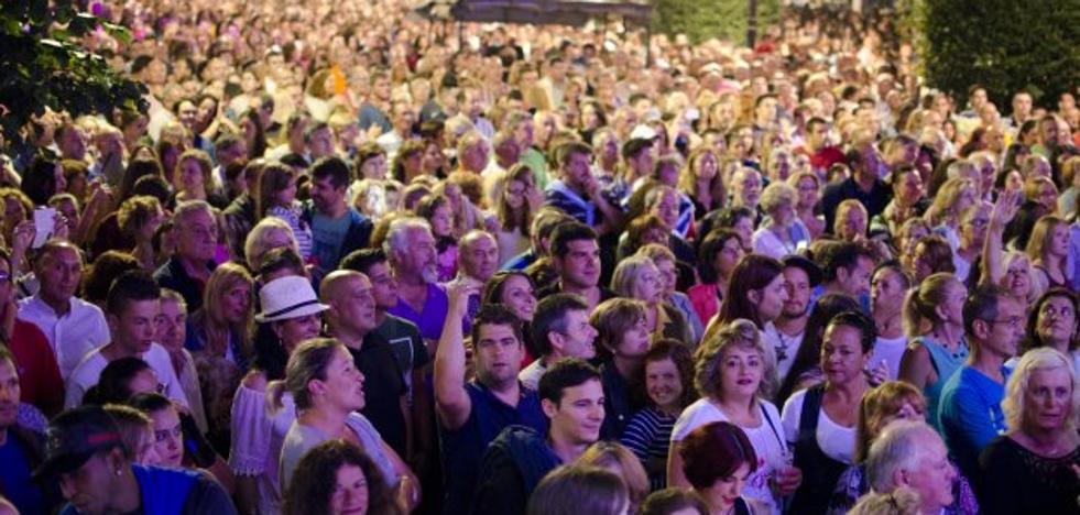 Hosteleros reclaman mantener en Begoña el concierto de la Noche de los Fuegos
