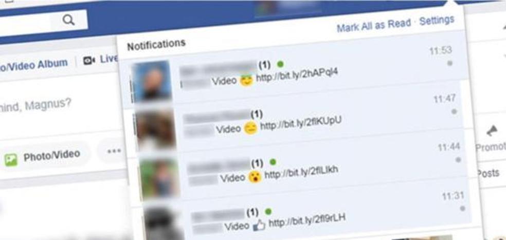 El nuevo virus que se propaga a través de Facebook