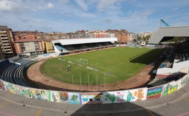 El estadio Suárez Puerta, cuyo nombre pide cambiar IU.