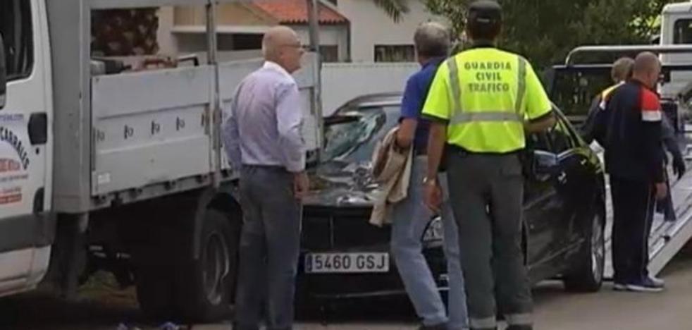 Herido un joven de 26 años en Colunga tras ser atropellado