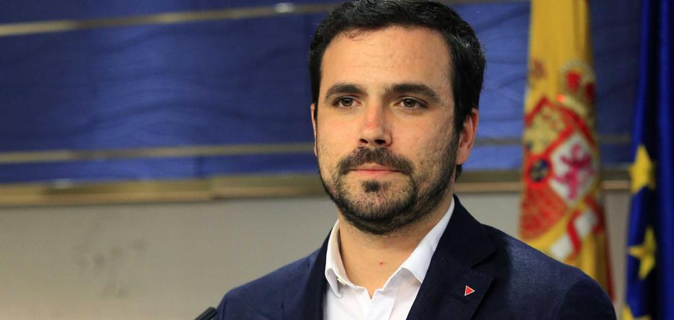 Alberto Garzón afirma que Llamazares «está construyendo las excusas para irse»