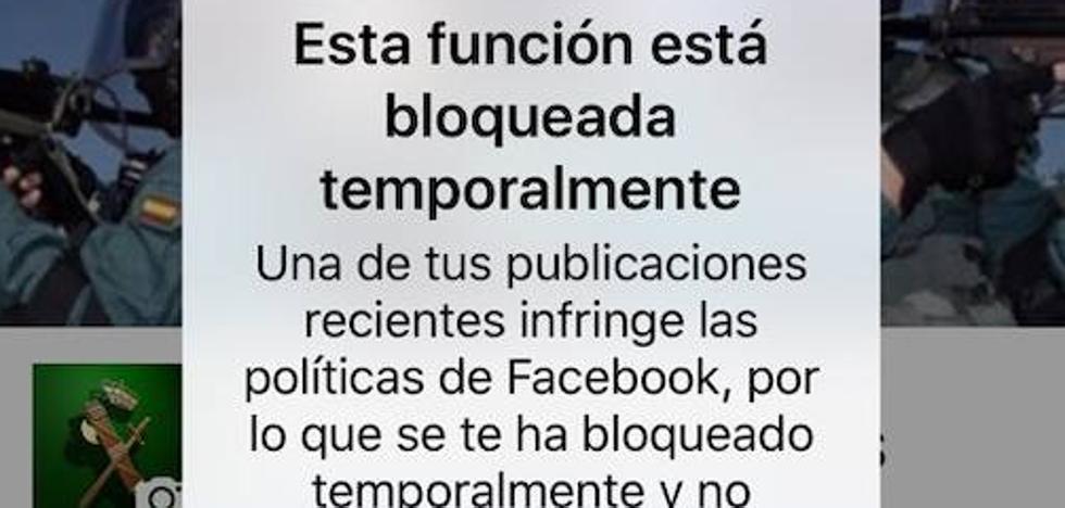 Facebook confunde la denuncia de un comentario pederasta y violento con un delito
