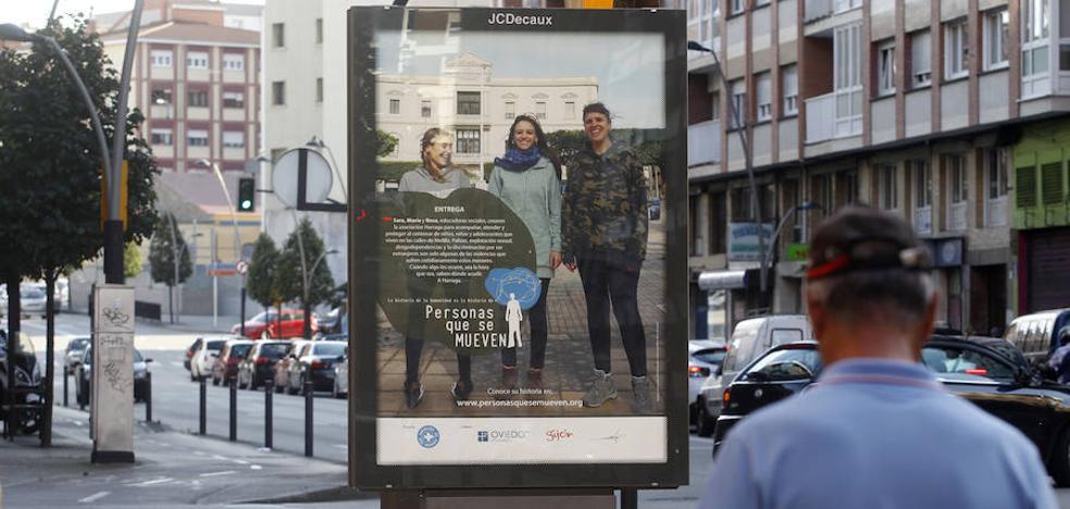 Médicos del Mundo, ante la polémica del cartel de Gijón: «No va contra nadie ni acusa a nadie»