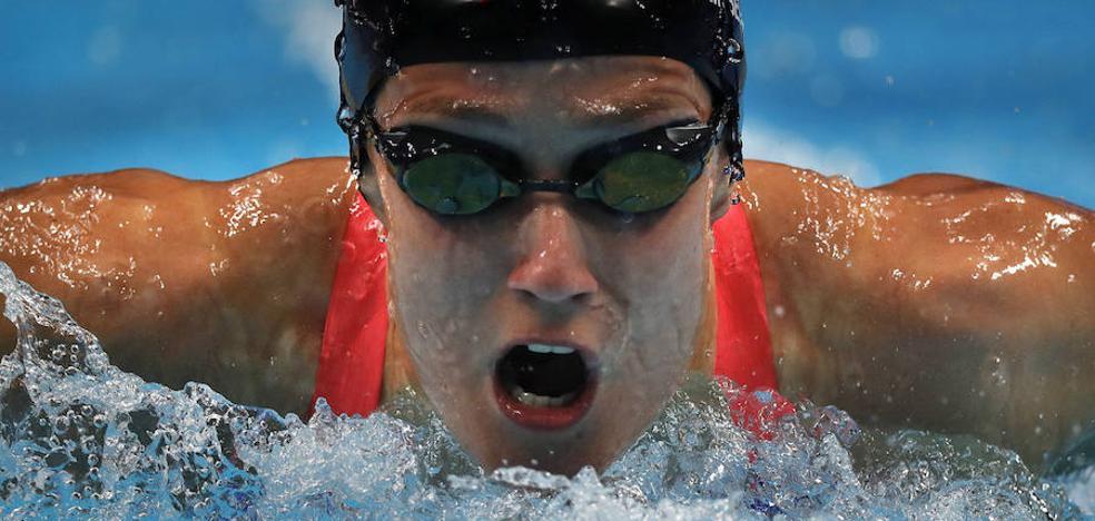 Mireia Belmonte logra otros dos oros en la Copa del Mundo