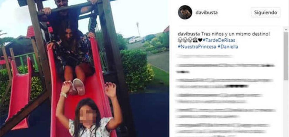 Paula Echevarría y David Bustamante se divierten juntos con su hija