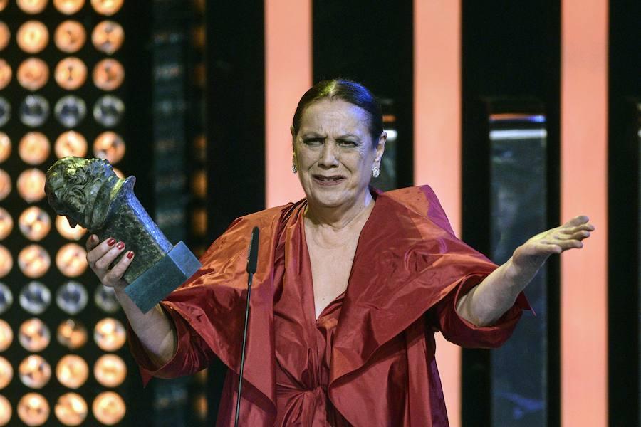 Muere Terele Pávez a los 78 años