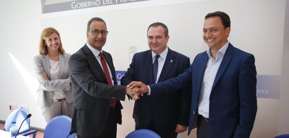 La obra para dar potencia eléctrica al polígono de Lloreda concluirá en abril