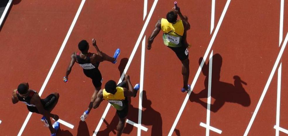 Usain Bolt, con Jamaica a la final de relevos