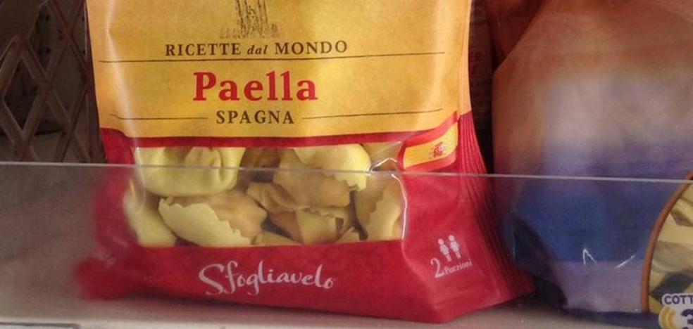 Llega a los supermercados la pasta rellena de paella