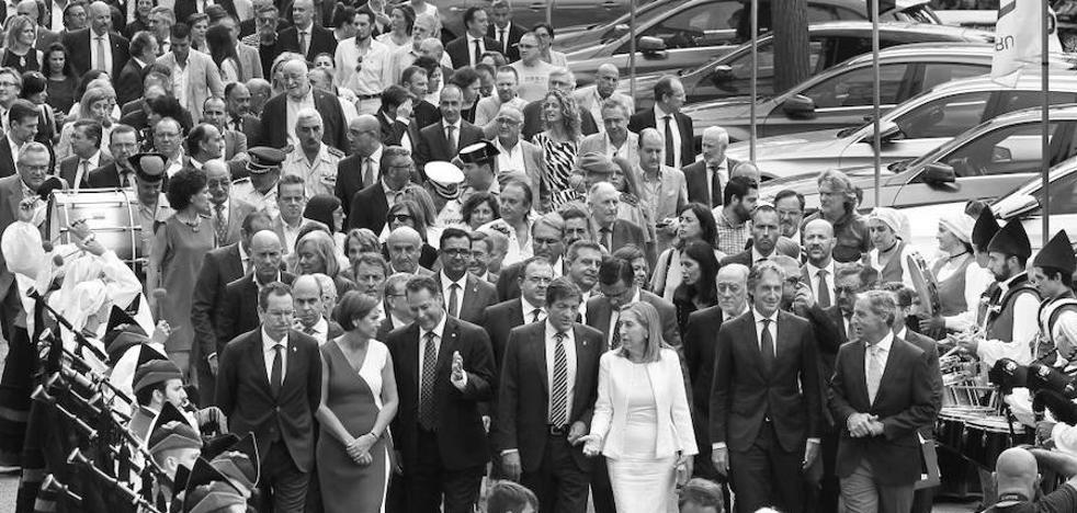 La tregua política de la Feria de Muestras