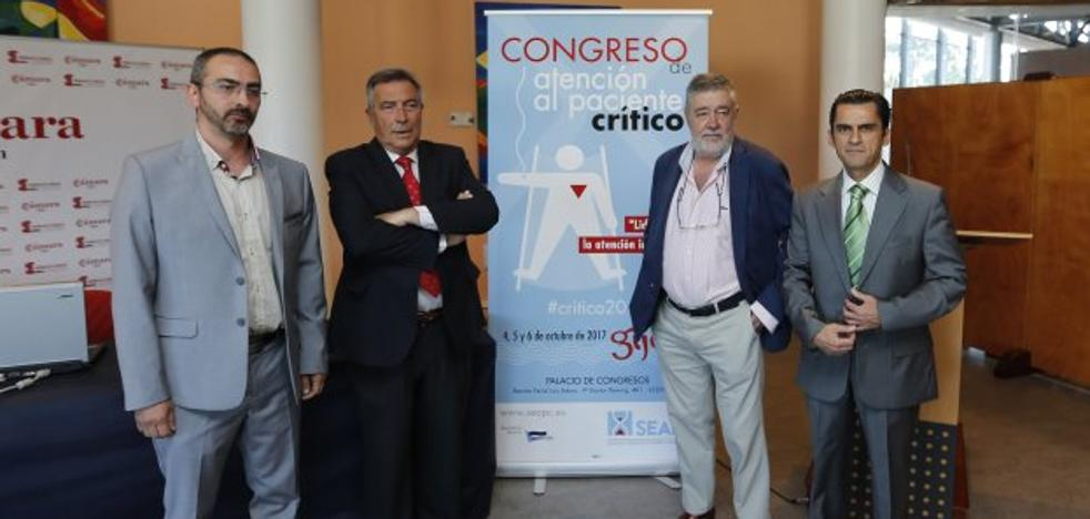 La atención del paciente crítico, eje de un congreso del 4 al 6 de octubre