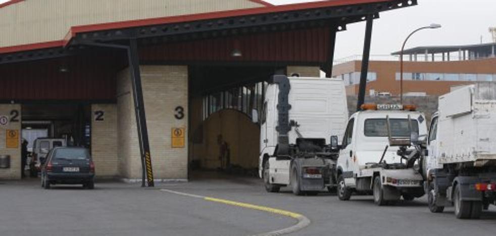 La estación de ITV aislará la línea de vehículos pesados