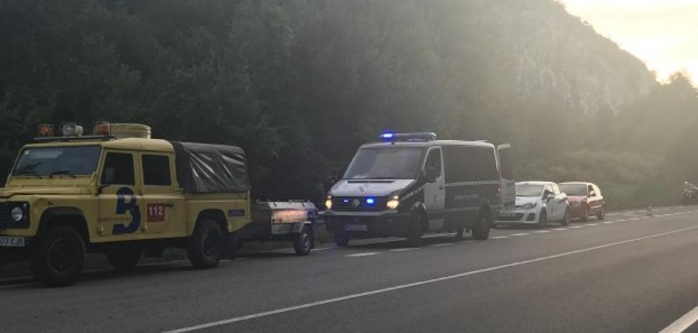 El fin de semana deja un fallecido y ocho heridos leves en las carreteras asturianas