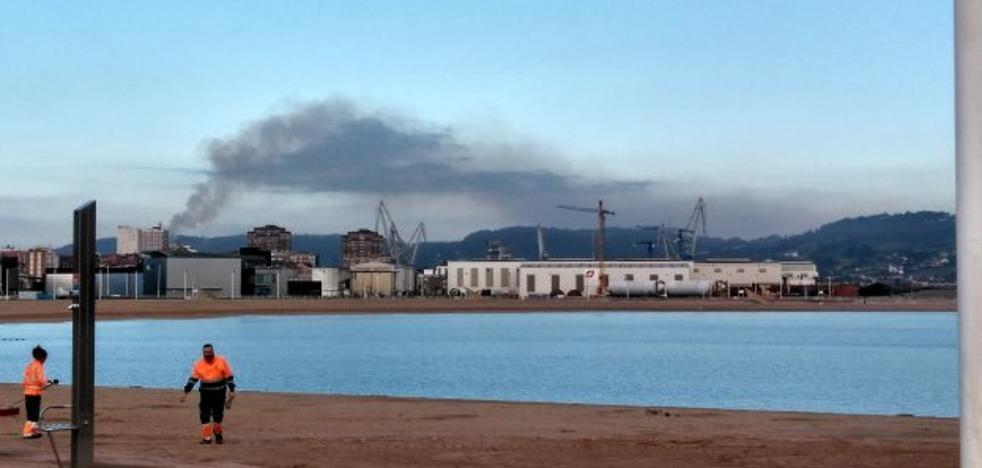 Arcelor emite un informe de la nube negra del sábado pero sigue investigando el incidente