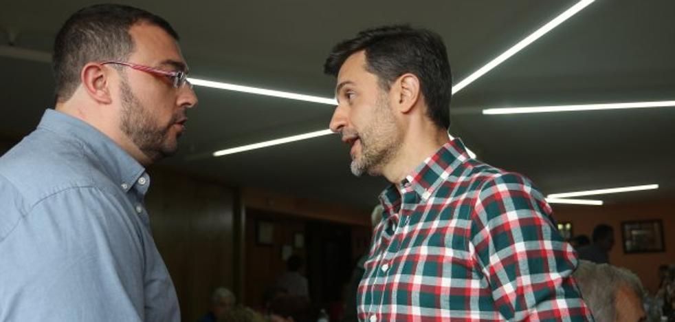 Los candidatos a liderar el PSOE en Asturias pugnan por la bandera del cambio