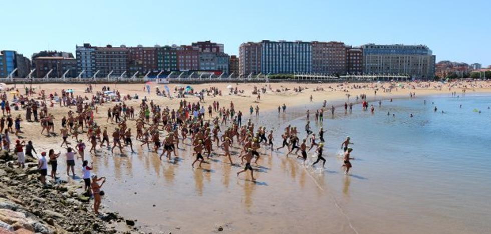 Jorge Lara y Leire Martín debutan con victoria en la playa de Poniente