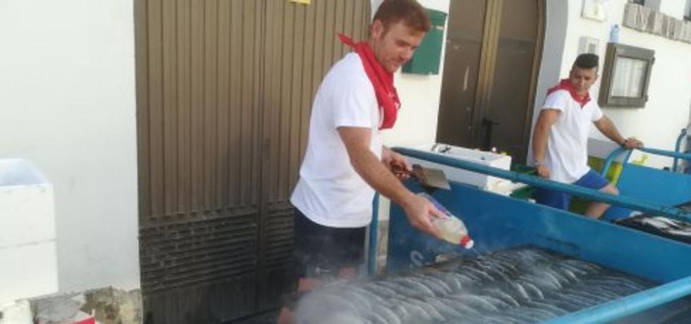500 kilos de sardinas en honor a Nuestra Señora del Rosario