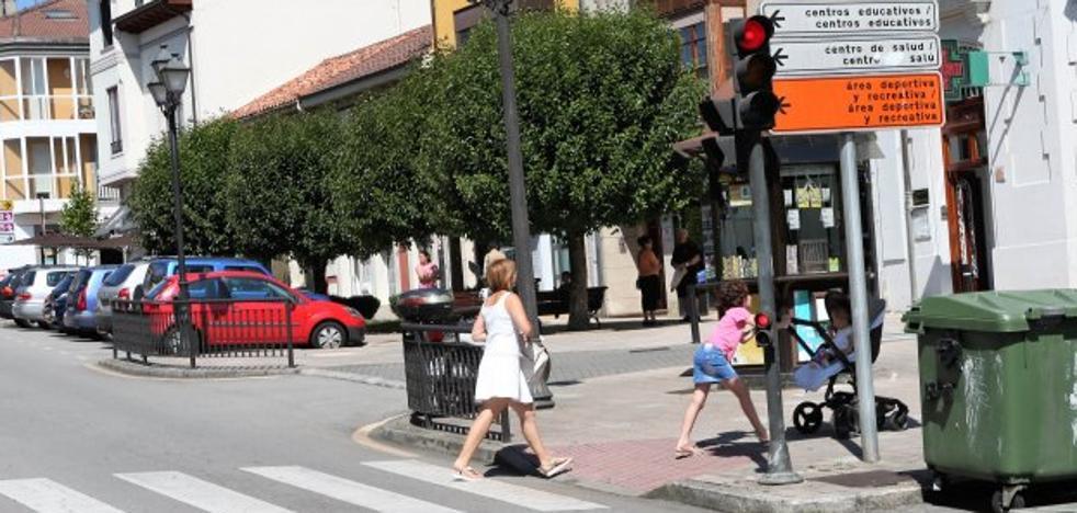Semáforo con aviso acústico en Flórez Estrada