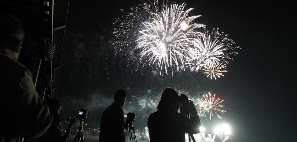 Directo: la noche de los Fuegos de Gijón