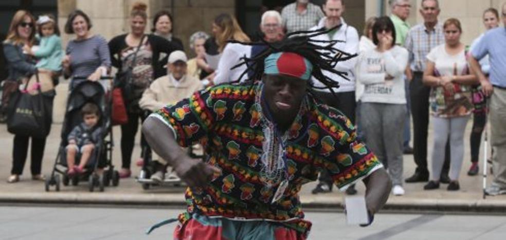 El Festival Folclórico en Avilés