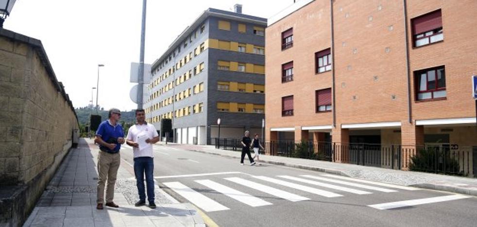 Siero renovará el alumbrado urbano de la zona este de la Pola y del polígono de la Tejera