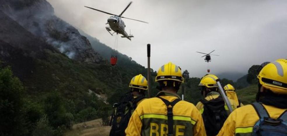 El 71% de los incendios los originan imprudentes que superan los 46 años