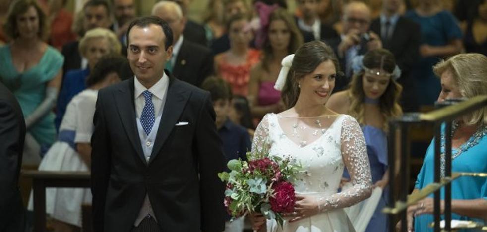 Antón Meana se casa en San Pedro