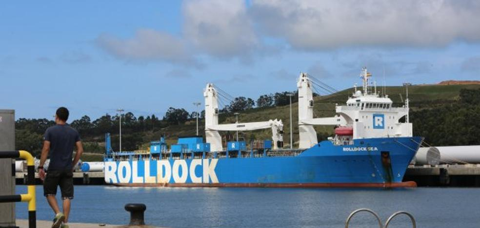 La larga espera del 'Rolldock Sea'