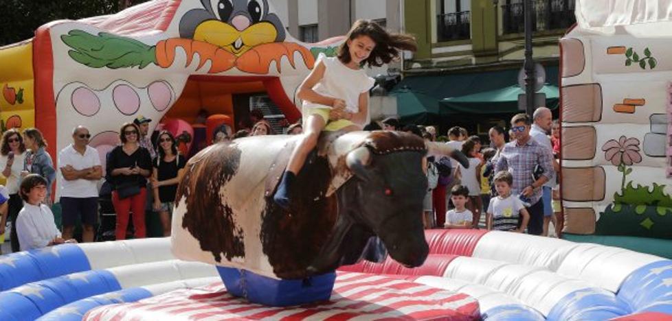 Día de juegos infantiles en Ribadesella