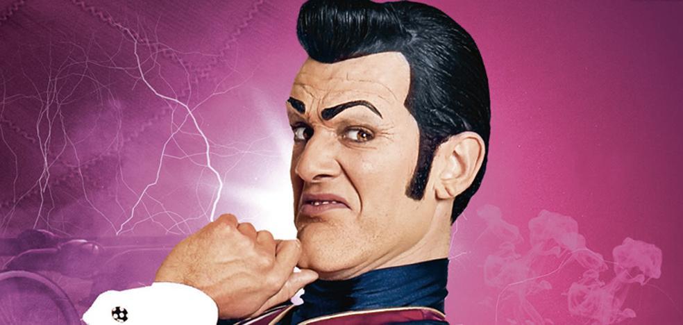 El actor que encarnaba al villano de 'Lazy Town', curado de su cáncer de páncreas