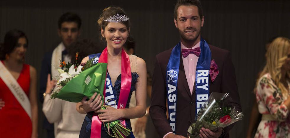 Rocío y David, de Avilés y Siero, los más guapos de la Feria