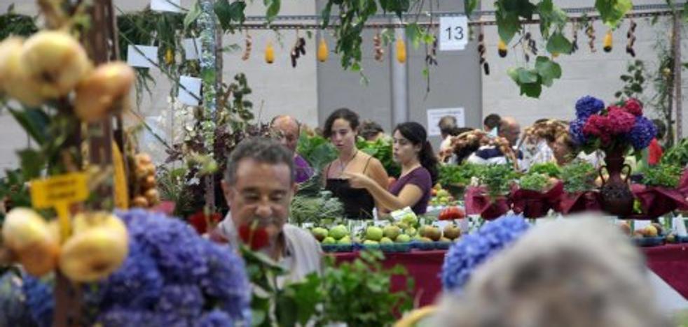 Exposición Regional de Hortalizas, frutas, flores y plantas en Pravia